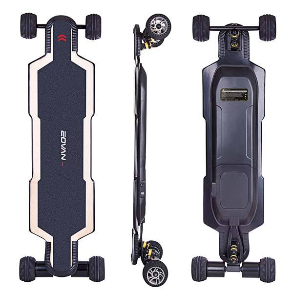 enginediy ELECTRIC SKATEBOARD US ESC 6.0 Electric Skateboard BRT-02 Direct Drive Electric Longboard with 90 Days Warranty