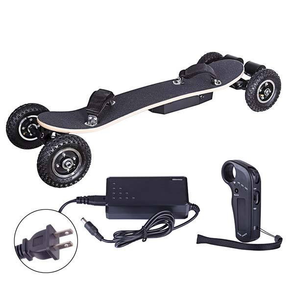 enginediy ELECTRIC SKATEBOARD US Electric Skateboard 2x1650W ED-08 ALL-TERRAIN LONGBOARD Off-road Electric Skateboard