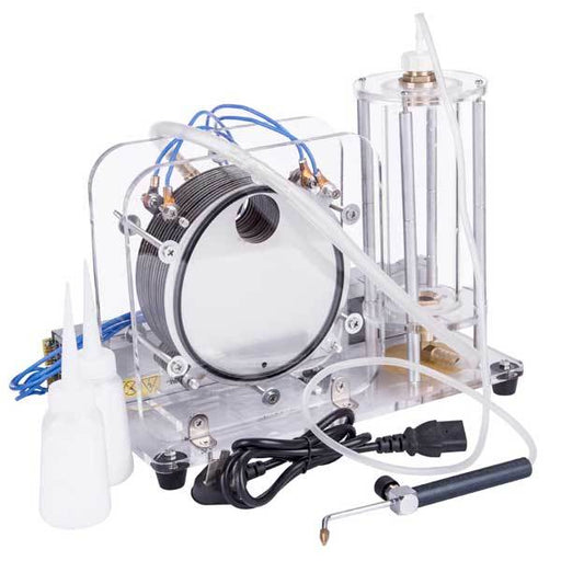 enginediy Engine Models Electrolysis of Water Generator - Oxy Hydrogen Flame Generator Home Science Kit - Engineidy