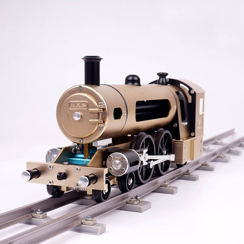 enginediy DIY Engine Mini Engine Build Kit Steam Train Engine Unassembled Engine DIY Kit for Adult - Enginediy