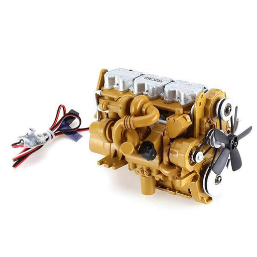 enginediy RC Engine Diesel Engine for HG-P602 RC Car Truck Zinc Alloy Ideal Collection Gift