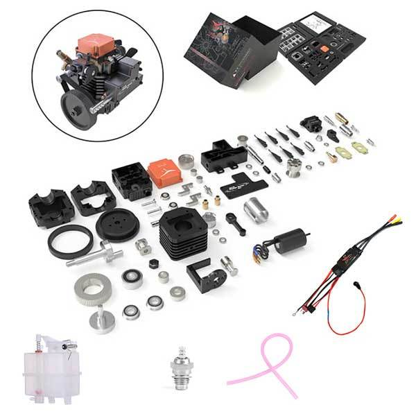 Toyan Engine FS-S100AC RC Engine Building Kit with Starter Kit - enginediy