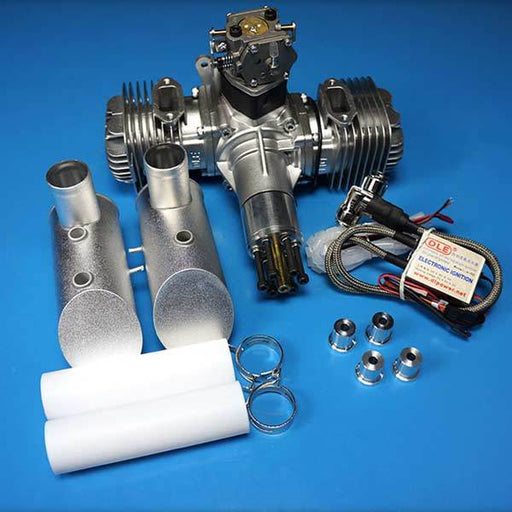 DLE Engines DLE 120CC Twin Gas RC Aircraft Engine for RC Plane Engine - enginediy