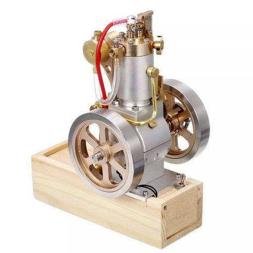 Vertical Hit and Miss Engine Metal IC Engine with Hand Start Device Gift Collection - Enginediy - enginediy
