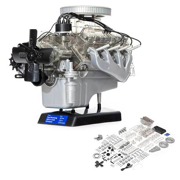 Ford Mustang V8 Engine Model Kit - Build Your Own V8 Engine - Enginediy - enginediy