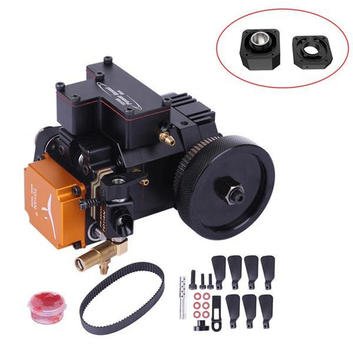 enginediy Engine Models Four-stroke Engine Water Cooled Four Stroke Petrol Engine IC Engine Gift Collection for Adult - Enginediy