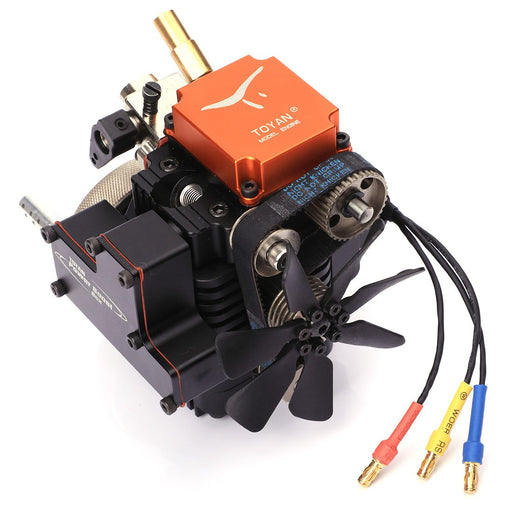 enginediy Engine Models Copy of Four Stroke Methanol Engine Water Cooling Four-stroke Engine Model FS-S100(W) - Enginediy