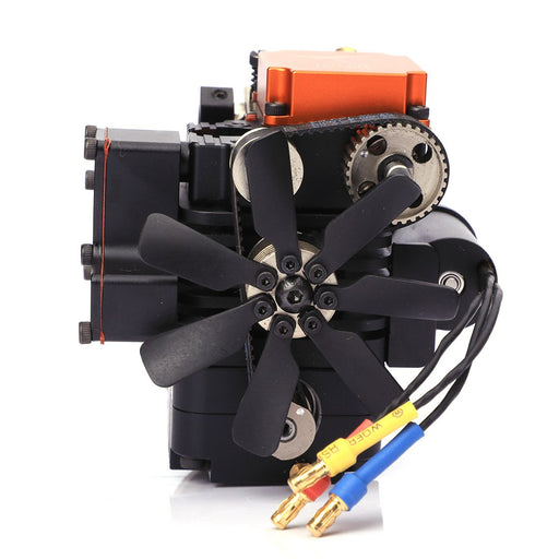 4 Stroke RC Engine Toyan FS-S100 Four Stroke Methanol Engine for RC Car Boat Plane (with Starting Motor)