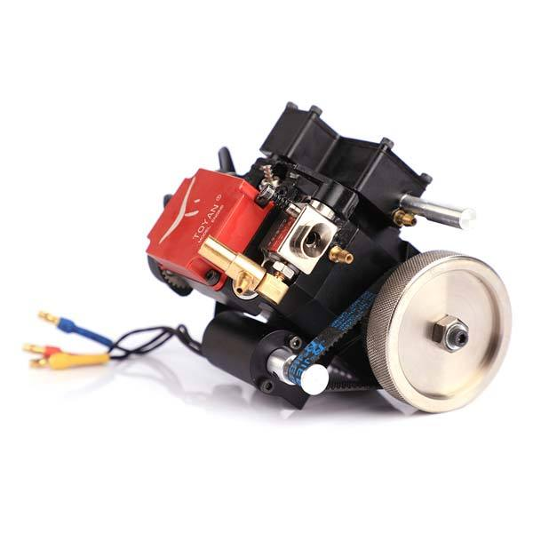 Toyan FS-S100(W) 4 Stroke RC Engine Water Cooled Four Stroke Methanol Engine Kit for RC Car Boat Plane - enginediy