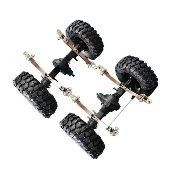 enginediy Toyan Engine Front Rear Suspension Set for Toyan Gas Engine RC Car