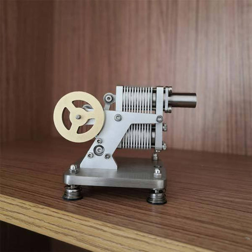 Full Metal Stirling Engine Generator Model Stem Engine Educational Toy - enginediy