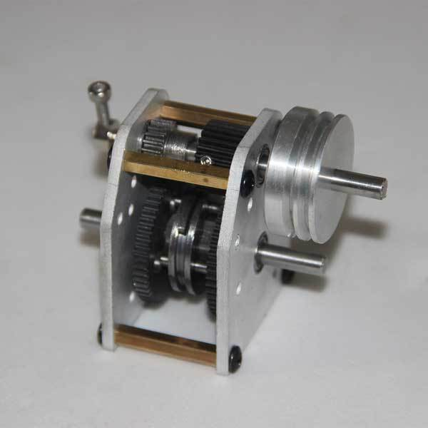 enginediy Gearbox with Wheel Part for Toyan 4 Stroke Engine Part FS-S100 FS-S100(W) FS-S100G FS-S100G (W)