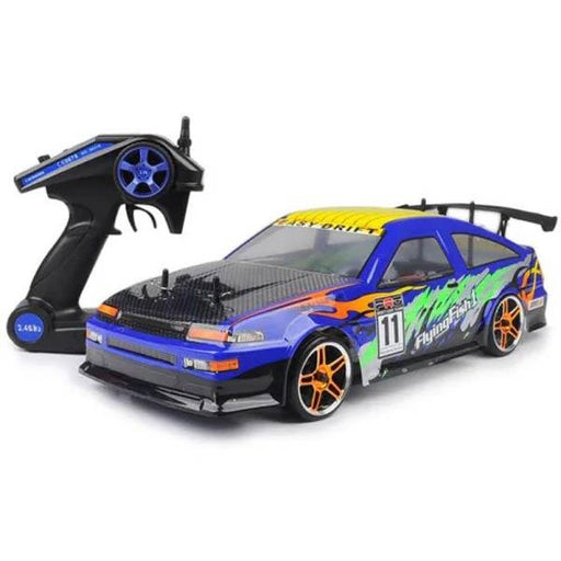 HSP 94123 RC Car 1/10 4WD 2.4G 540 Motor 7.2V 1800Mah Battery On Road Drifting RC Car - enginediy