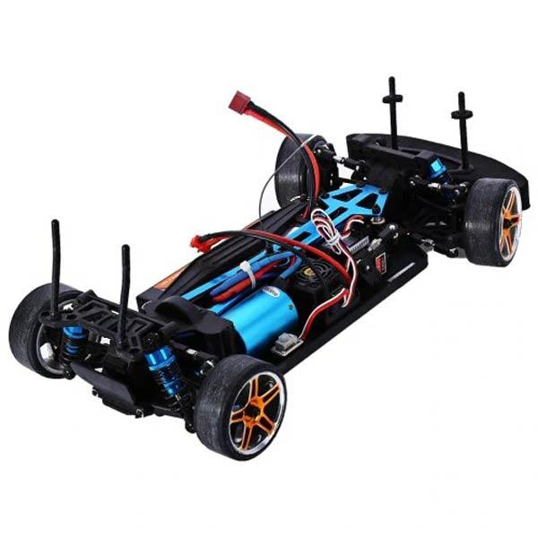 enginediy RC Engine HSP 94123 RC Car 1/10 Scale 4WD Nitro Gas Powered Monster Truck Vehicle