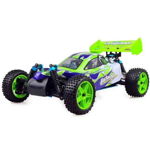 HSP 94166 RC Car 1/10 Scale 4WD Nitro Gas Powered Off-Road Buggy Truck Vehicle - enginediy