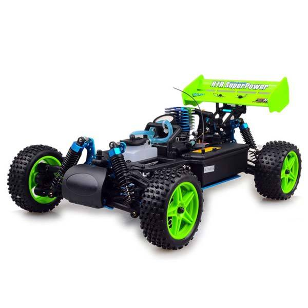 enginediy RC Car HSP 94166 RC Car 1/10 Scale 4WD Nitro Gas Powered Off-Road Buggy Truck Vehicle
