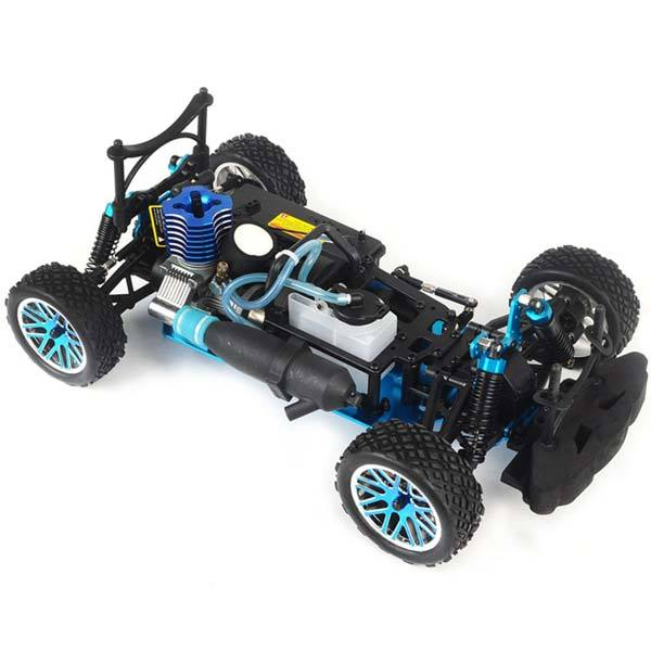 enginediy RC Car HSP 94177 RC Car 1/10 Scale 4WD Nitro Gas Powered Off-Road Buggy Truck Vehicle
