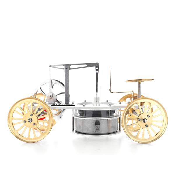 enginediy Low Temperature Stirling Engine Low Temperature Difference Stirling Engine Car Model Stem Toy Gift Collection Decor - Enginediy
