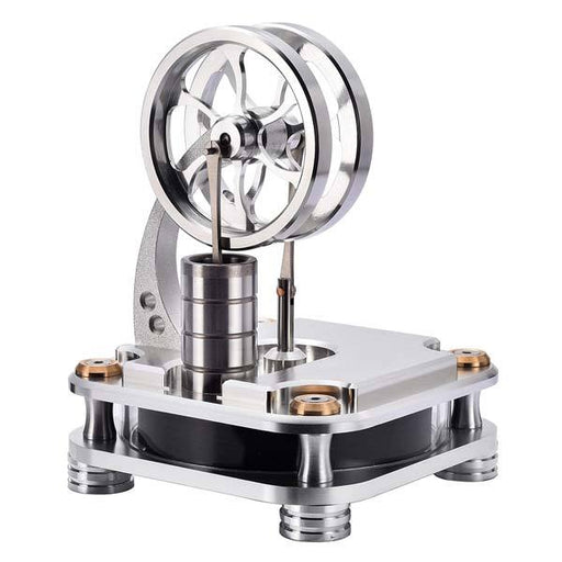 Low Temperature Stirling Engine Stainless Steel Engine Model Toy for Intelligence Development - enginediy