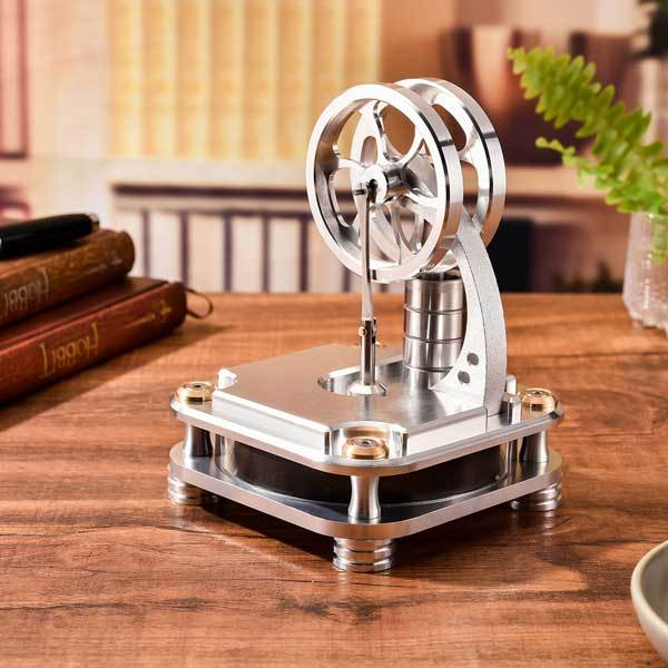 Stainless Steel Low Temp Stirling engine for Developing Intelligence - Enginediy