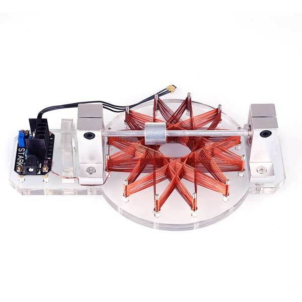 Magnetic Levitation Motor 20000RPM High-speed Hall Effect Sensor Brushless Motor Science Toy - Enginediy - enginediy