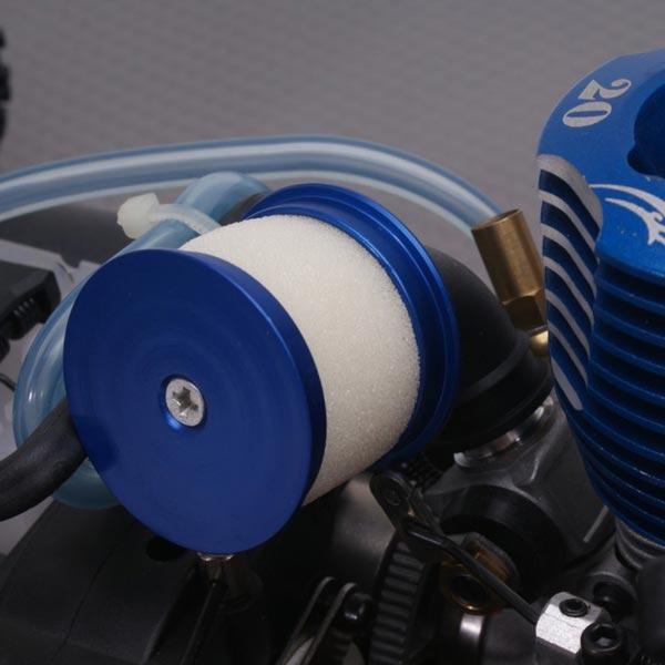 enginediy Metal Head Air Filter Air Cleaner for Toyan Engine 1:10 Scale RC Car