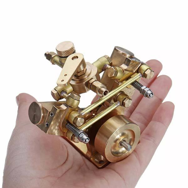 Microcosm M2B Mini Steam Engine Kit 2 Cylinder Marine Steam Engine Stirling Engine Gift Collection - enginediy