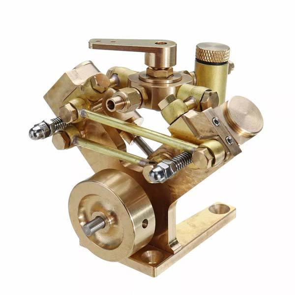 Microcosm M2B Mini Steam Engine Kit 2 Cylinder Marine Steam Engine Stirling Engine Gift Collection
