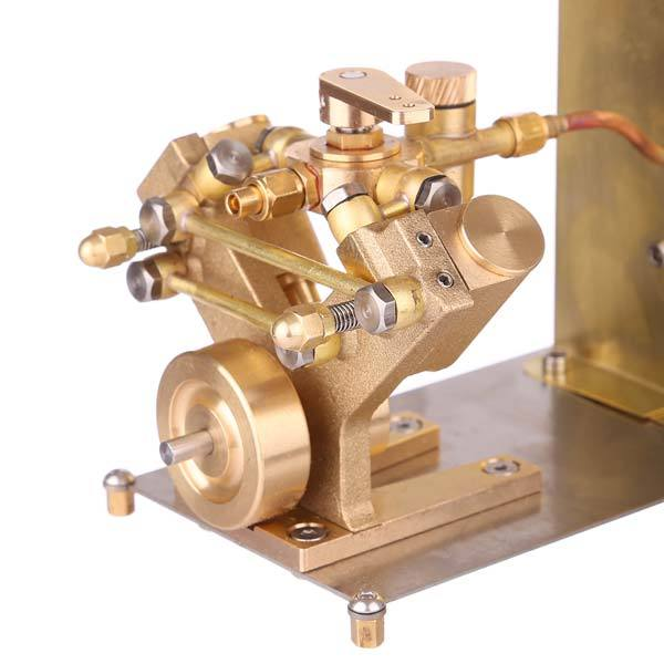 enginediy Steam Engine Microcosm M2C Mini Steam Engine with Steam Boiler Marine Steam Engine Model - Enginediy