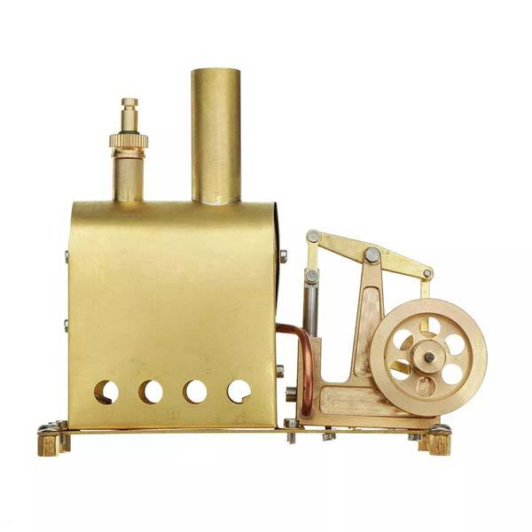 enginediy Steam Engine Microcosm M89 Mini Steam Boiler Steam Engine Model Gift Collection DIY Stirling Engine - Enginediy