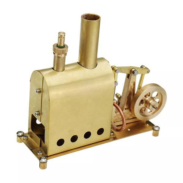 Microcosm M89 Mini Steam Boiler Steam Engine Model Gift Collection DIY Stirling Engine - Enginediy