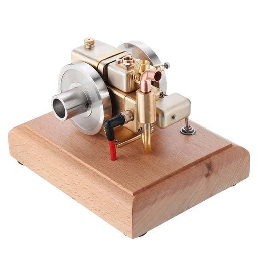 M12 2.6cc Mini 4 Stroke Retro Water-cooled Gasoline Gas Engine for Gift Collection - enginediy