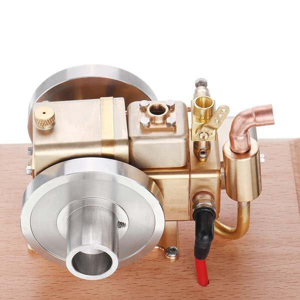 enginediy Engine Models Mini Retro Gas Engine 2.6cc Water-cooled IC Engine for Gift Collection