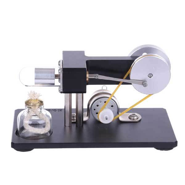 Mini Hot Air Stirling Engine 5V// 12V Motor Physical Science Experiment Toy