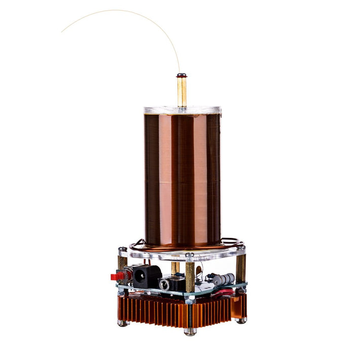 enginediy Engine Models Copy of Singing Tesla Coil Music Kit Plasma Loudspeaker Wireless Transmission Experiment Desktop Toy Model - Enginediy