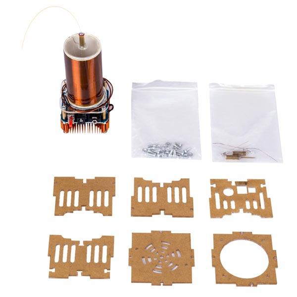 Mini Singing Tesla Coil Music Kit Wireless Transmission Experiment Desktop Toy - Enginediy - enginediy