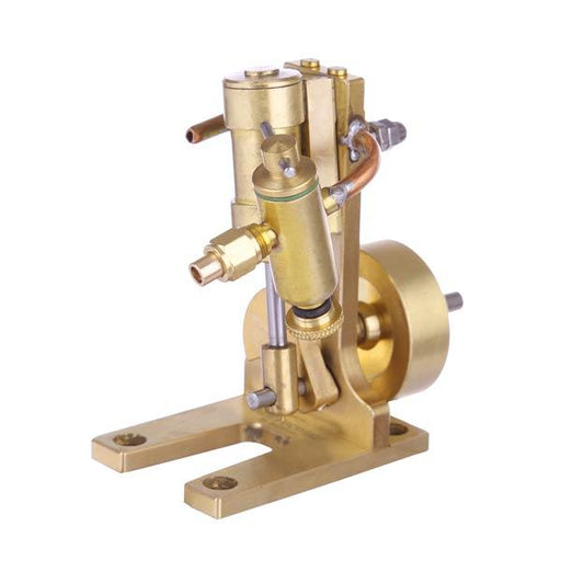 enginediy Steam Engine Mini Single Cylinder Double Swing Steam Engine Model Toy Creative Gift