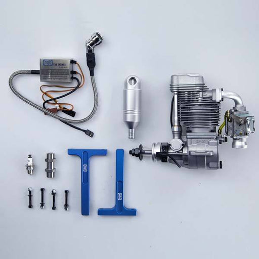 enginediy RC Engine NGH GT70 70cc Twin cylinder Two Stroke Petrol Engine for RC Drone - Enginediy