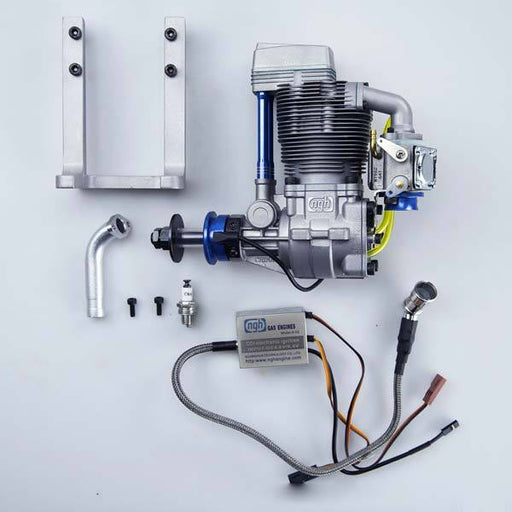 NGH GF38 38cc Four Stroke RC Petrol Engine for RC Plane - Enginediy - enginediy