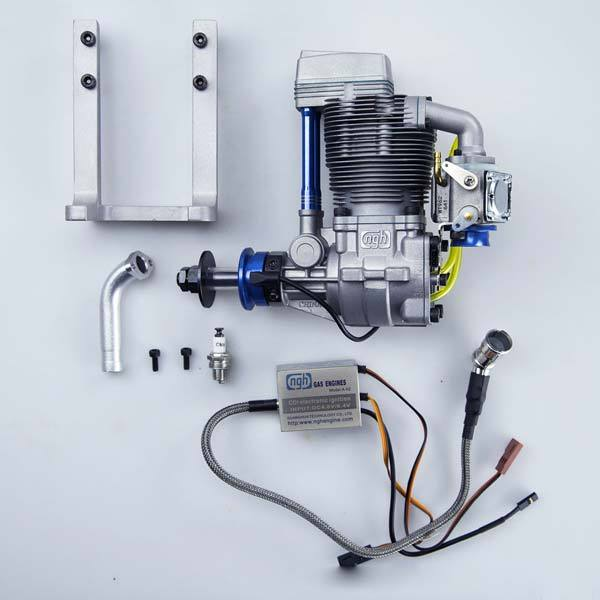 enginediy RC Engine NGH GF30 30cc Four Stroke RC Engine for RC Drone - Enginediy