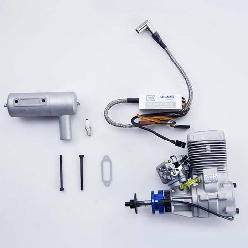 enginediy RC Engine NGH GT17 17cc Gas Engine Two-Stroke Engine Air Cooled for Fixed Wing Drone - Enginediy