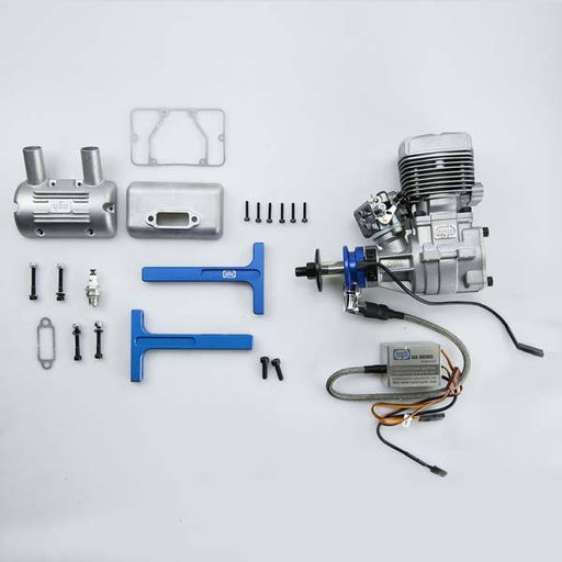 NGH GT35R 35cc Rear Exhaust Two-Stroke Engine for Fixed Wing Drone - Enginediy - enginediy