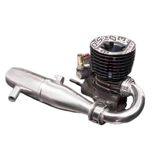 O.S. Speed B2103 42000RPM Buggy Nitro Engine with T-2100SC Pipe - enginediy
