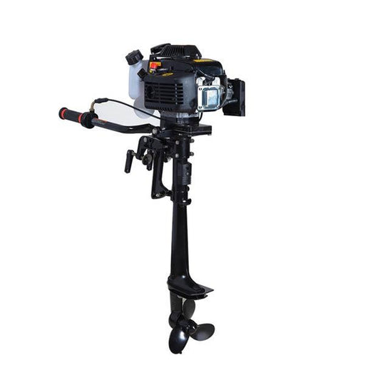 Outboard Motors, 4 Stroke 4Hp 55cc Air-cooled Boat Engine Outboard Boat Motor - enginediy