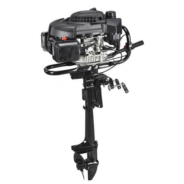 enginediy Engine Models Outboard Motors, 4 Stroke 9HP 224cc Air-cooled Boat Engine Outboard Boat Motor for 3-7.5m Boat
