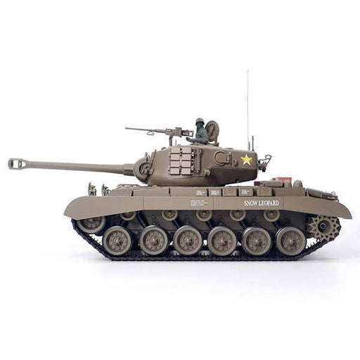 enginediy RC Car RC Tanks that Shoot BBS 1/16 M26 Pershing RC Tank with Smoke & Sound