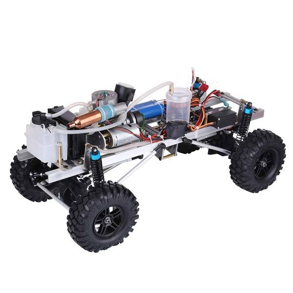 enginediy RC Car RC Car Engine 2.4G 4WD Electric with Water-cooled Methanol RC Engine - Enginediy