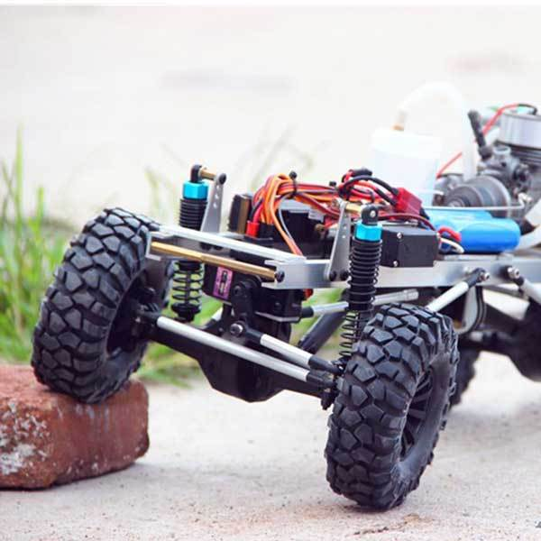 enginediy Engine Models RC Car Engine 2.4G 4WD Electric with Water-cooled Methanol RC Engine - Enginediy
