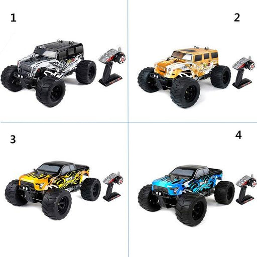 enginediy RC Engine RC Car Gas Powered BM5 1/5 Scale 4WD Buggy RC Truck RTR with 29cc Gas Engine