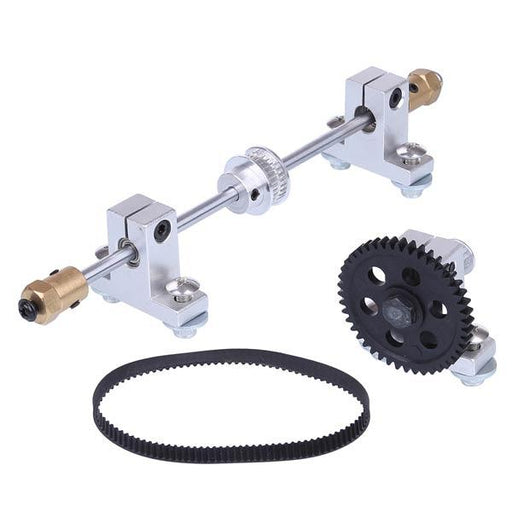 enginediy RC Engine Rear Steering Assembly Kit Compatible with Toyan FS-S100(W) , FS-S100G(W) Engine Modify Kit